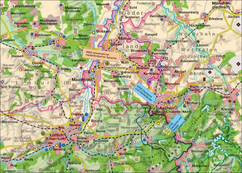 Euroregion Maas-Rhein |  | Euroregion Maas-Rhein | Karte 14/2