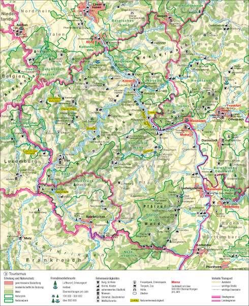 Tourismus      Tourismus   Karte 9/3