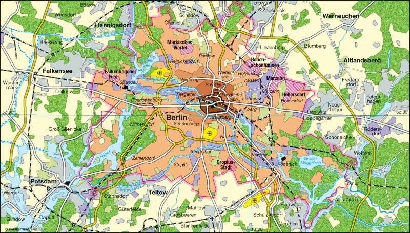 Berlin | Stadtentwicklung | Stadtentwicklung | Karte 14/2