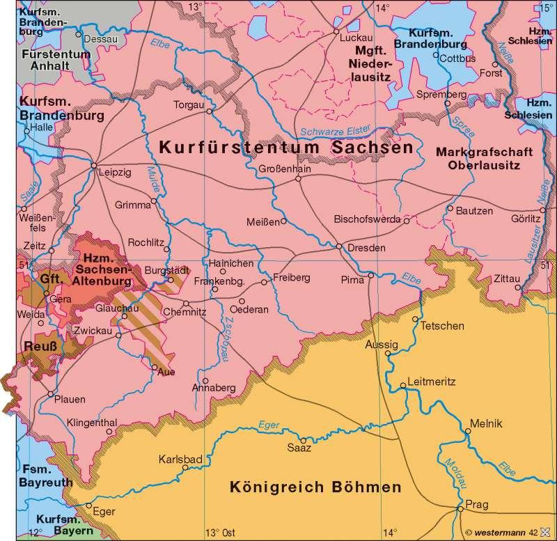 Sachsen 1789 |  | Verwaltung | Karte 11/1