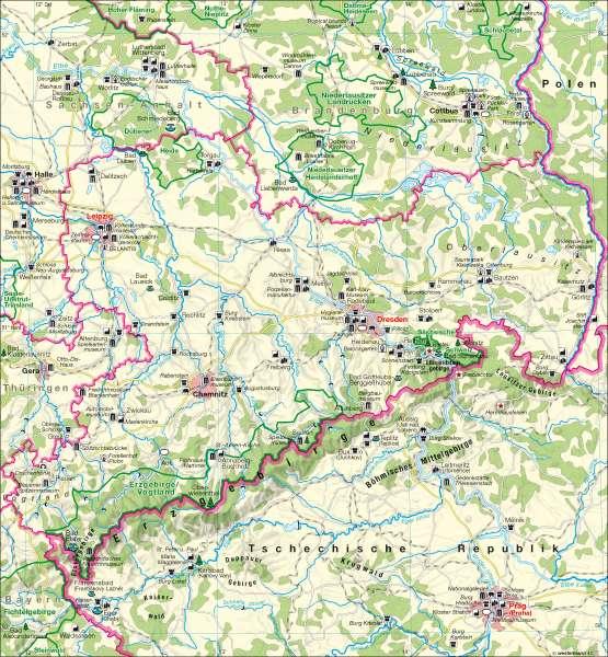 Tourismus |  | Tourismus | Karte 13/4