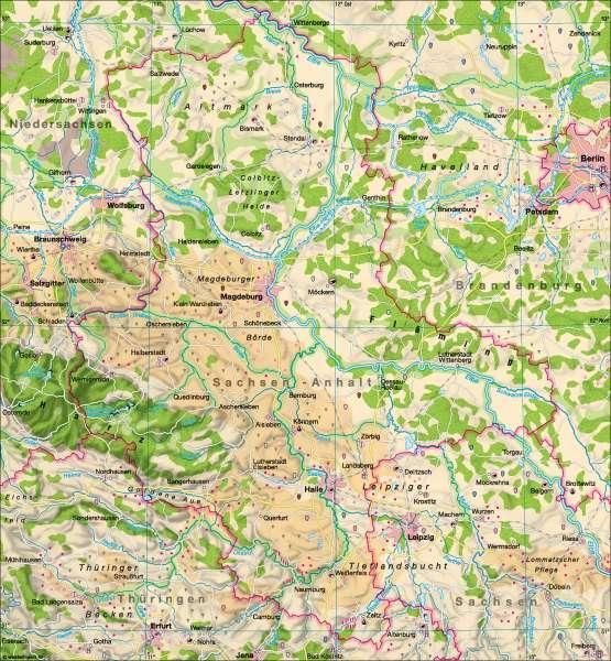 Landwirtschaft |  | Landwirtschaft | Karte 7/1