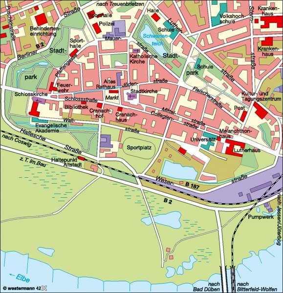 Lutherstadt Wittenberg |  | Kultur | Karte 12/2