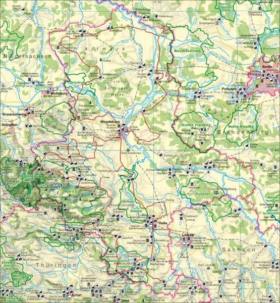 Tourismus |  | Tourismus | Karte 13/5
