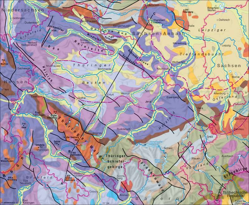 Geologie |  | Geologie | Karte 2/1