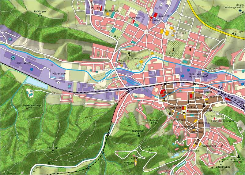 Eisenach |  | Wirtschaft | Karte 8/1